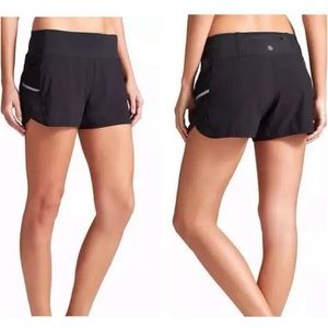 Athleta Ready Set Go Black Athletic Shorts.